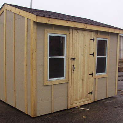 Custom Ordered Sheds